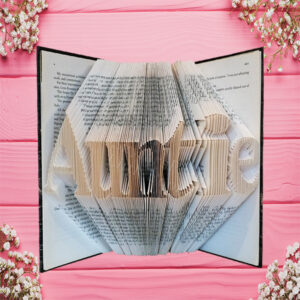 Auntie Folded Book Art - Original