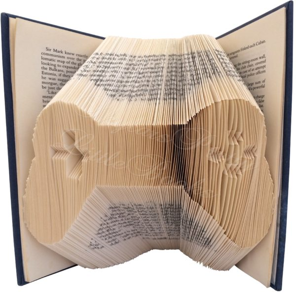 Gaming Remote Folded Book Art