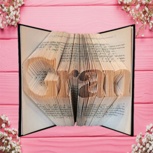 Gran Family Folded Book Art - Original