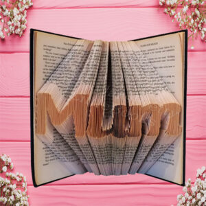 Mum Family Folded Book Art - Midi