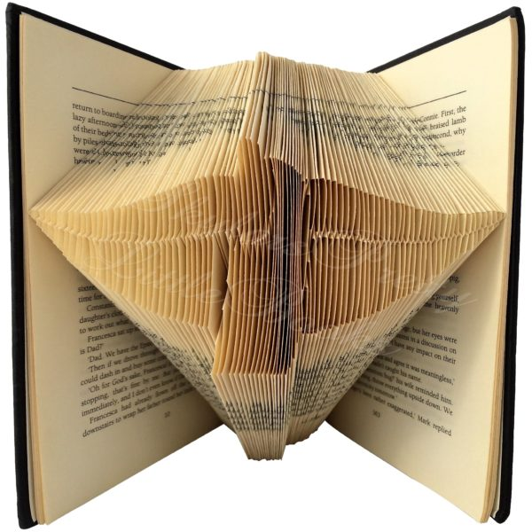 Shush Folded Book Art