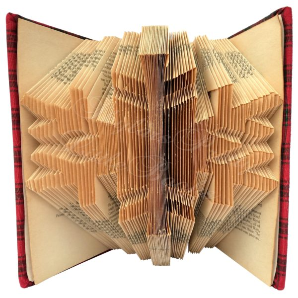 Snowflake Folded Book Art