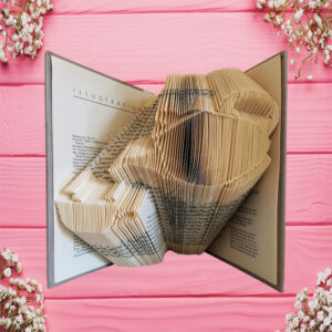 Afternoon Tea Collection Folded Book Art - Pouring Teapot