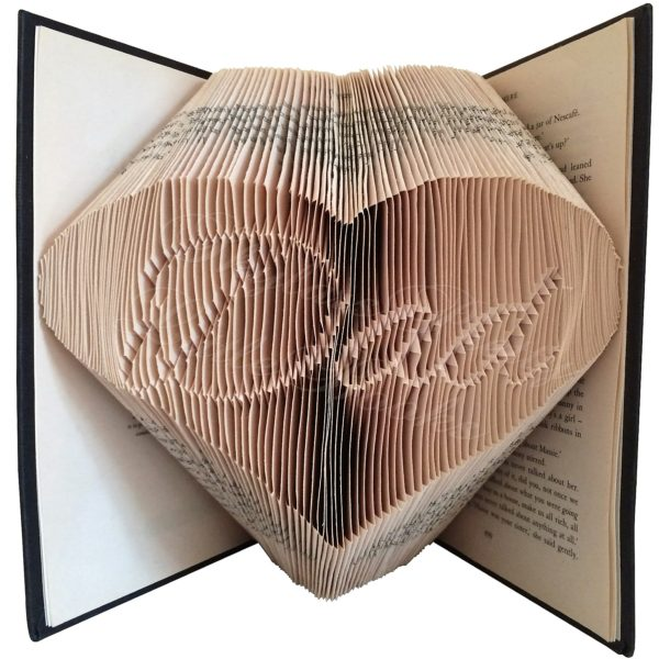 Dad In Heart Family Folded Book Art