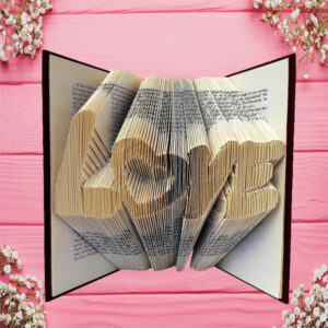 Graffiti Love Folded Book Art